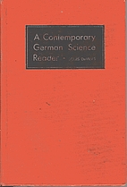 Contemporary German Science Reader by Ed.…