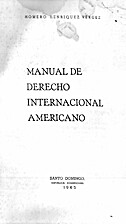 Manual de derecho internacional americano by…