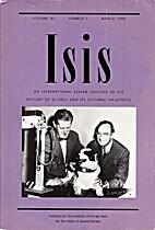 Isis, Vol. 83 (1992)
