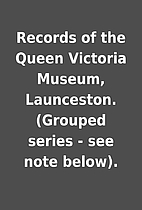 Records of the Queen Victoria Museum,…