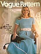 Vogue Pattern Book International, 1971…