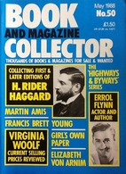 Book and Magazine Collector May 1988 -No. 50…