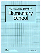 NCTM Activity Sheets for Elementary School