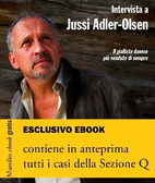 Intervista a Jussi Adler-Olsen e i casi…