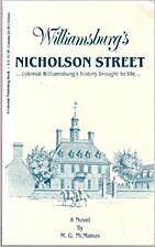 Williamsburg's Nicholson Street: Colonial…
