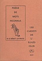 Les Carnets de l'Iliazd-Club by Collectif