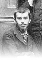 Author photo. Elie Halevy at 19. 1889