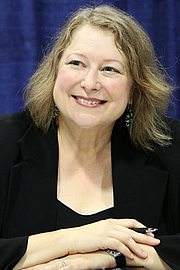 """Author photo. Harkness at the 2018 U.S. National Book Festival By Fuzheado - Own work, CC BY-SA 4.0, <a href=""""https://commons.wikimedia.org/w/index.php?curid=72310946"""" rel=""""nofollow"""" target=""""_top"""">https://commons.wikimedia.org/w/index.php?curid=72310946</a>"""