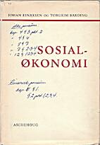 Sosialøkonomi, [femte utg. annet oppl.] by…