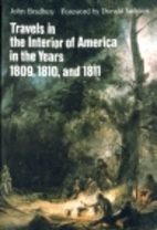 Travels in the Interior of America in the…