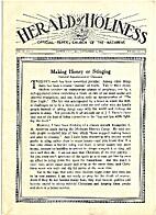 Herald of Holiness, Vol 23, No 24, September…