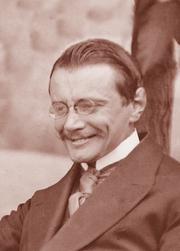 Author photo. Eberhard Arnold, 1913