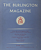 The Burlington Magazine (Vol. CXIII, nº…