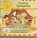 The First Thanksgiving Shaped Board Book by…