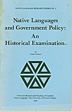 Native Languages and Government Policy: An…