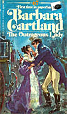The Outrageous Lady by Barbara Cartland