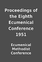 Proceedings of the Eighth Ecumenical…