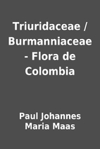 Triuridaceae / Burmanniaceae - Flora de…