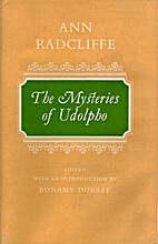 The mysteries of Udolpho: A romance,…