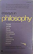 Essays in Philosophy by James Hume, Kant,…