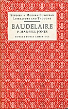 Baudelaire by P. Mansell Jones