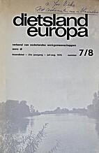 Dietsland-Europa - Verbond van Nederlandse…