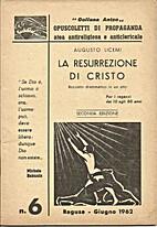 La resurrezione di Cristo: bozzetto…