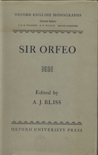 Sir Orfeo by Anonymous