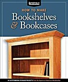 How to Make Bookshelves & Bookcases by…