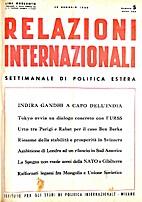 5. 1-25 : Relazioni Internazionali dal 1…