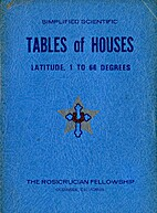Tables of Houses by Anoniem