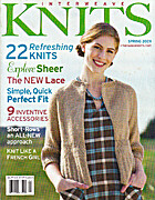 Interweave Knits, Spring 2009 by Interweave…