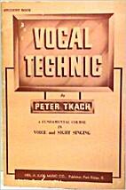 Vocal Technic A Fundamental Course in Voice…