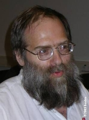 Author photo. Koenraad Elst (1959-) photograph by bartvs, Antwerpen, May 18th, 2005.