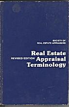 Real estate appraisal terminology by Byrl N.…