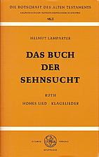 Das Buch der Sehnsucht : das Buch Ruth; das…