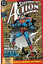 Action Comics # 659 by Roger Stern