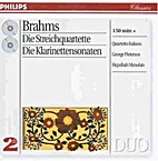 The Complete Clarinet Sonatas by Brahms