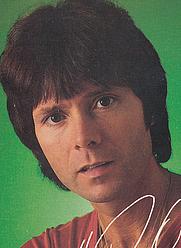 Author photo. Cropped scan of back cover of Coronet book, <i>Which one's Cliff</i>.