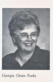 Author photo. Georgia Green Fooks (1988)