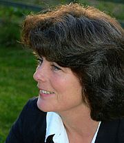 """Author photo. Gillian Galbraith, author of """"Blood in the Water"""" and """"Dying of the Light"""""""