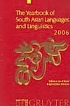 The Yearbook of South Asian Languages and…