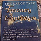 Large Type Treasury of Inspiration by K.S.…