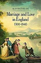Marriage and Love in England: Modes of…