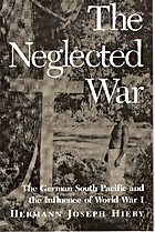 The Neglected War: The German South Pacific…