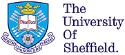 Author photo. University of Sheffield logo