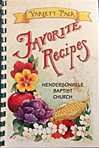 Favorite Recipes-Hendersonville Baptist…