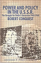 Power and Policy in the U.S.S.R. by Robert…