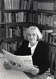 Author photo. Britta Gröndahl, 1994 (Tommy Nilsson)