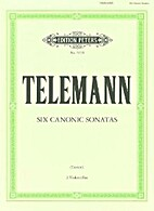 Edition Peters No. 4394: Telemann; 6…